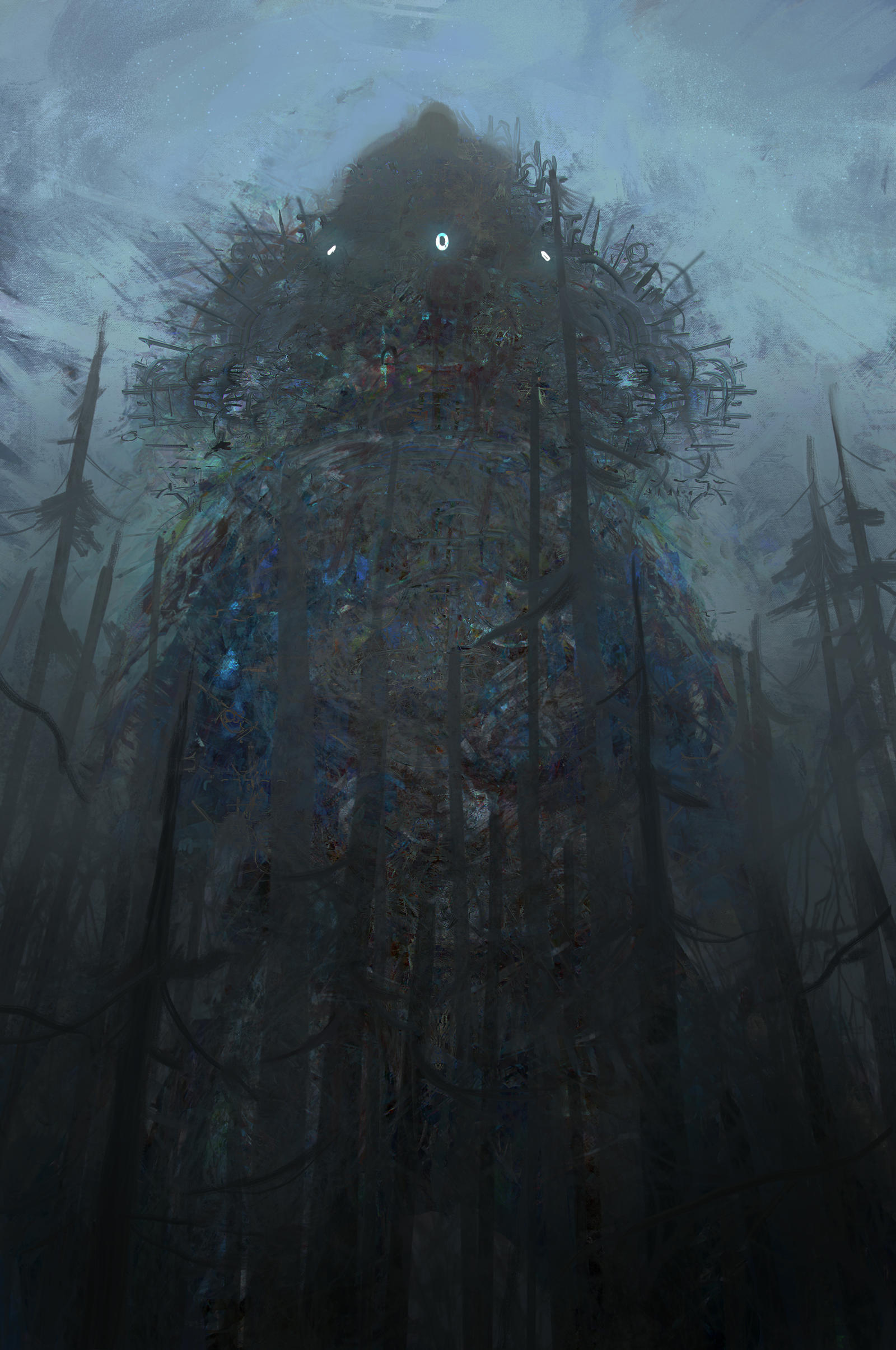 weird giant 8 by Chenthooran