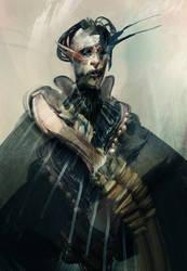black widow clansman by Chenthooran