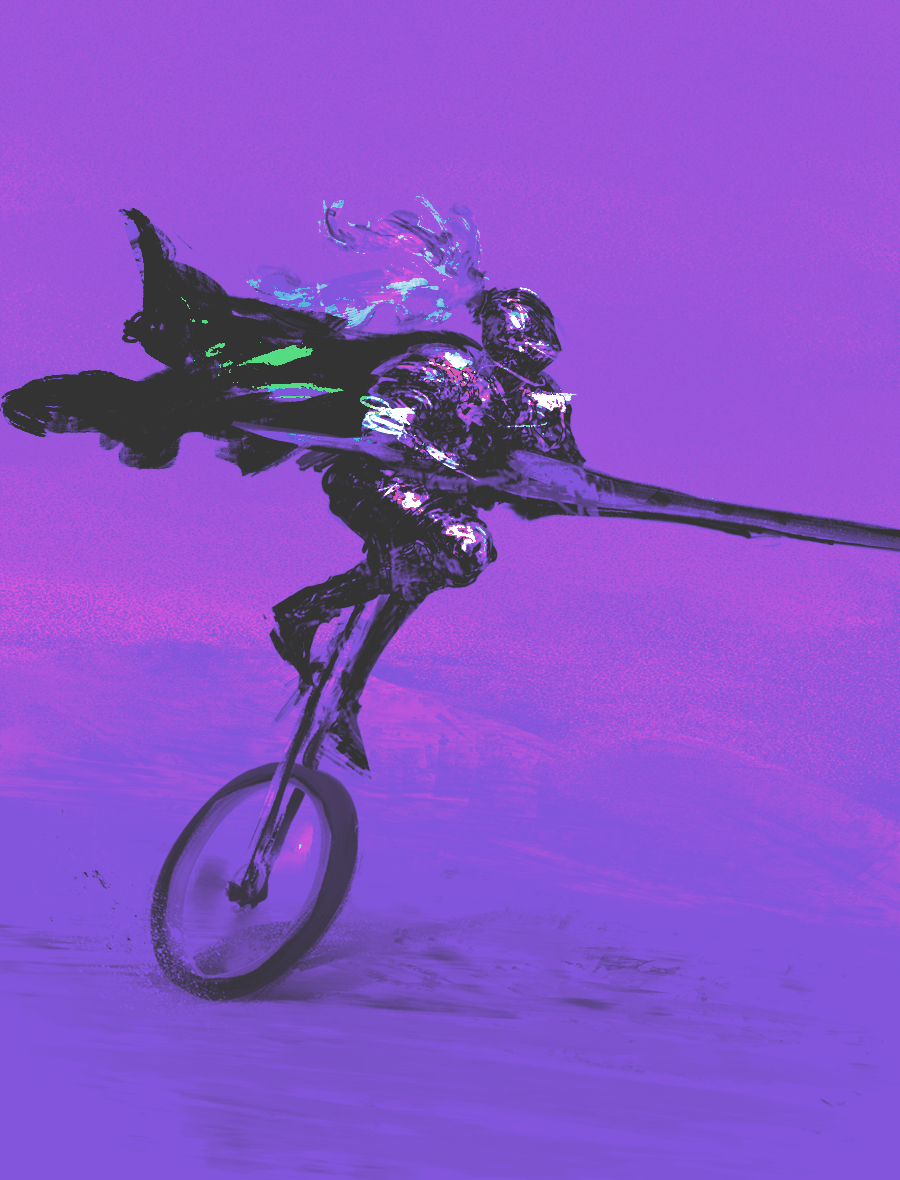 Blackest Knight by Chenthooran