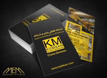 KUMSAN Crane Business Card