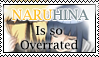 Naruhina is Overrated Stamp by minimoose1231