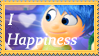 Happiness stamp lover by minimoose1231