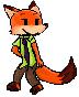 Pixel Nick Wilde by minimoose1231