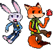 Pixar Nick And Judy Together by minimoose1231