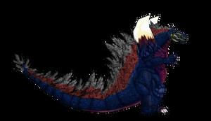 GDKBR Space Godzilla ( my redesign )