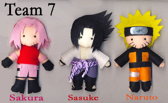 TimeSkip Team 7 by melrosestormhaven