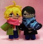 Doukyuusei and Sotsugyousei: Rihito and Hikaru