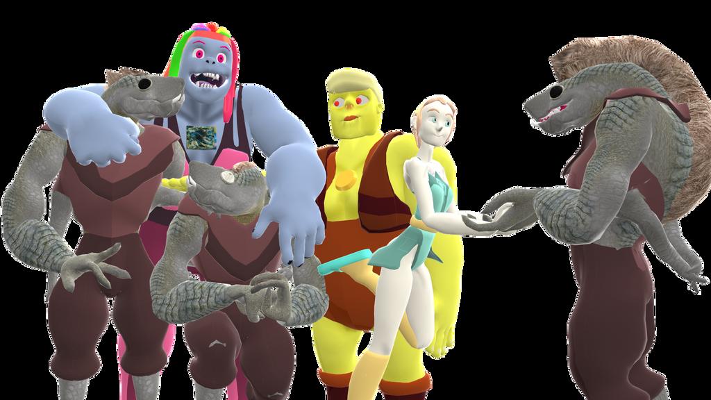 Rebel Gems: Gems and Minervans by Batterymaster