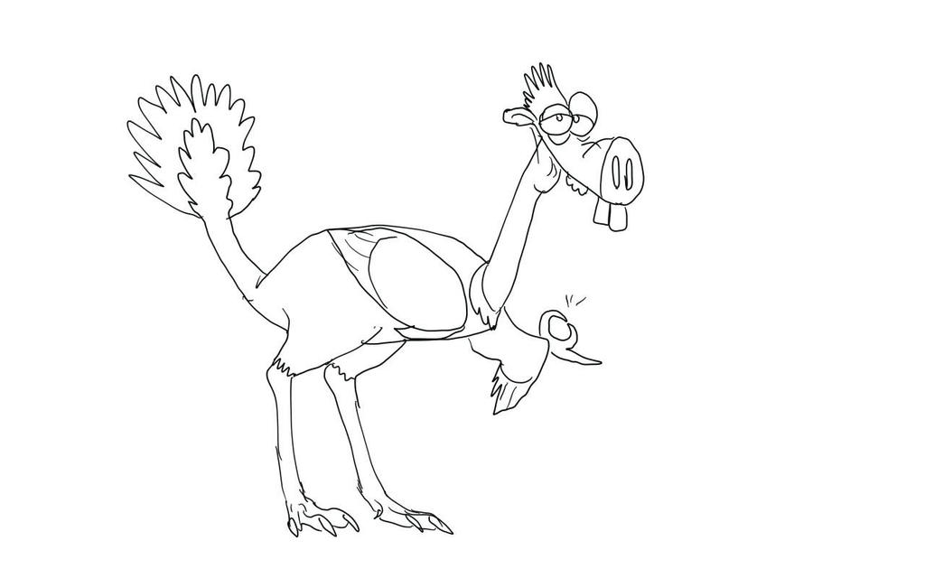 Incisivosaurus by Batterymaster