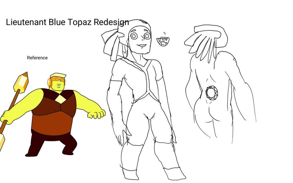 Rebel Gems: Lieutenant Blue Topaz ep.2 Design by Batterymaster