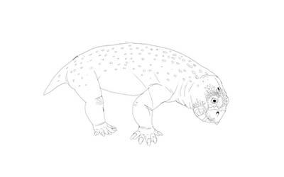 Lumpy Lystrosaurus by Batterymaster
