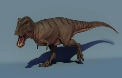 Tyrannosaurus Rex Render (Blender 2.8)
