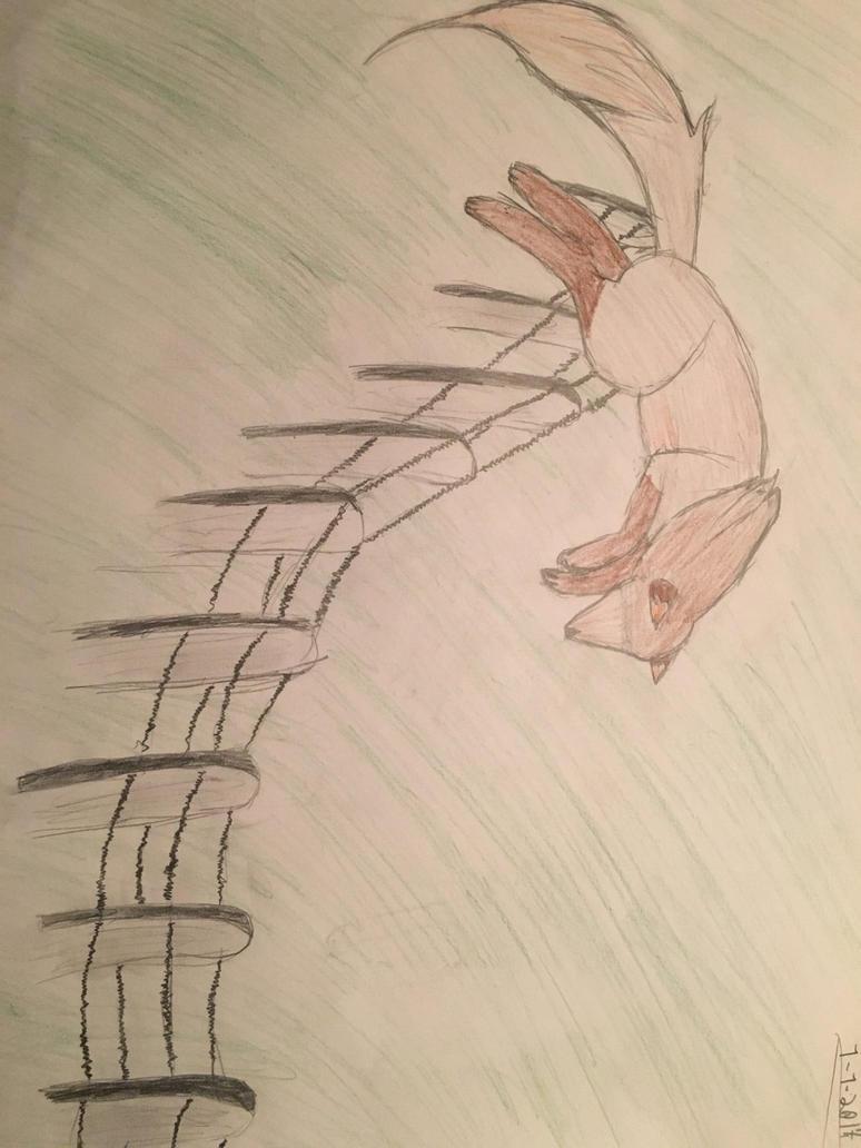 My lazy, cancerous drawing by XxFlintFoxxX
