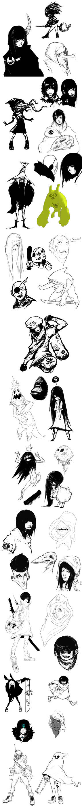 Ghost sketches