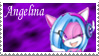Angelina Stamp by LenOdonnel