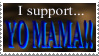 Yo Mama Stamp by LenOdonnel