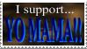 Yo Mama Stamp by LenOdonnel