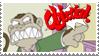 Evil Monkey Objection Stamp by LenOdonnel