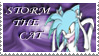 Storm the Cat Stamp by LenOdonnel