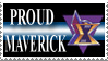 Maverick Stamp by LenOdonnel