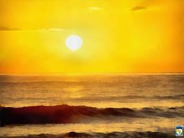 Yellow sky by imageking10