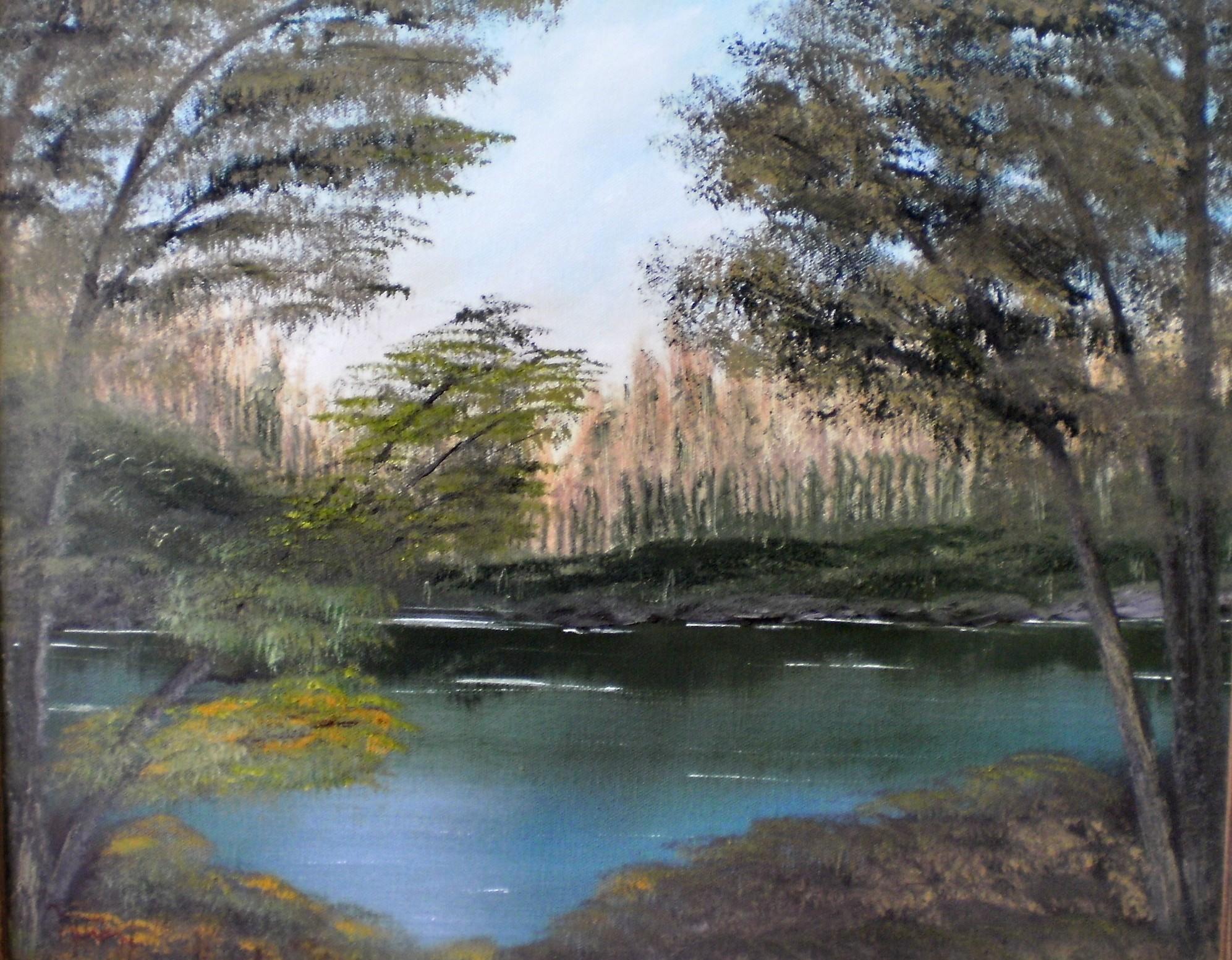 Tropical Scene I by Natan-Estivallet