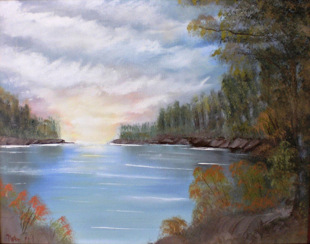 Calm Waters by Natan-Estivallet