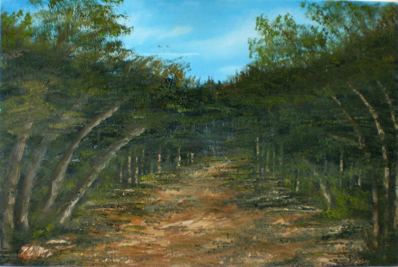Tropical Scene VI by Natan-Estivallet