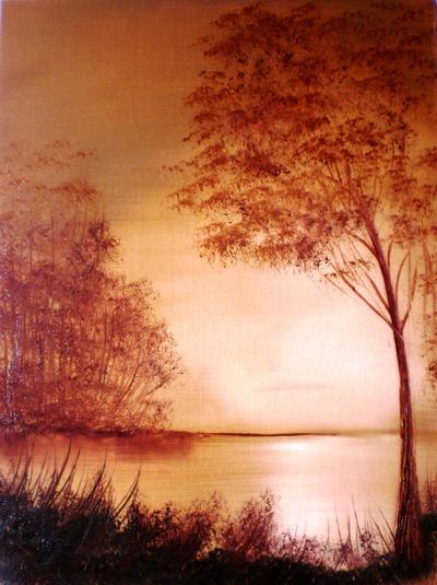 Beige Landscape by Natan-Estivallet