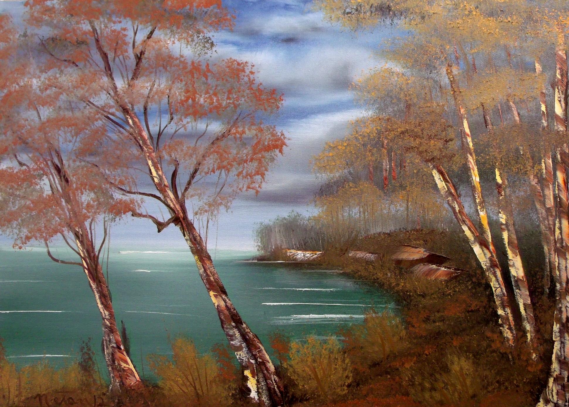 Autumn Landscape by Natan-Estivallet