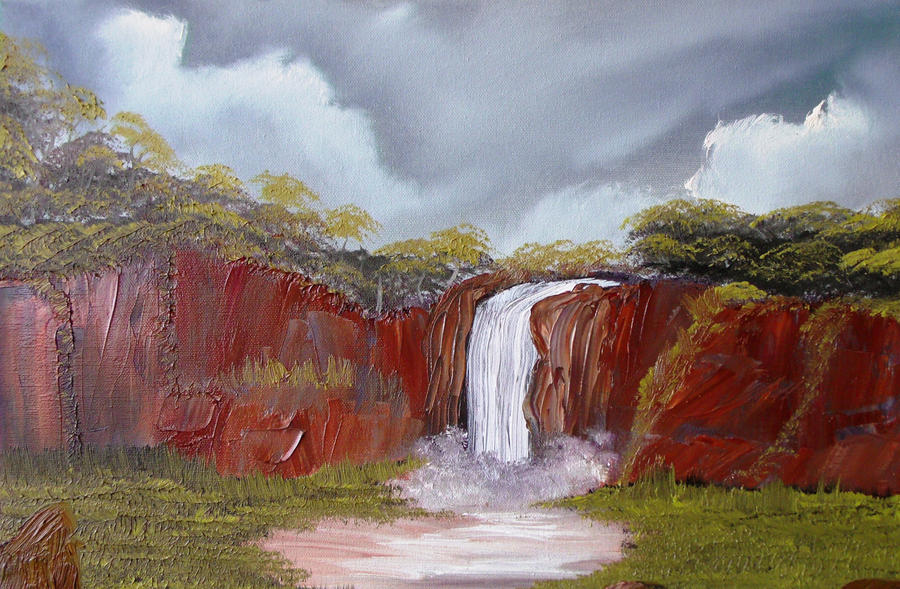 Third Waterfall by Natan-Estivallet