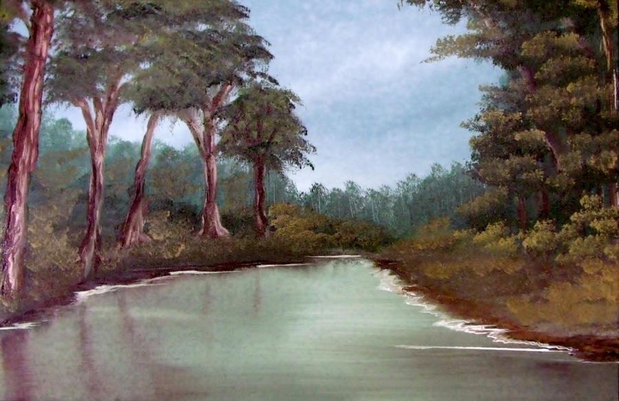 Gray River by Natan Estivallet by Natan-Estivallet