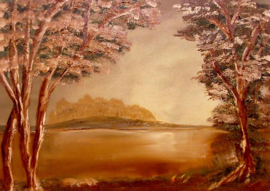 Warm Island by Natan Estivallet by Natan-Estivallet
