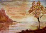 Golden Tree by Natan-Estivallet