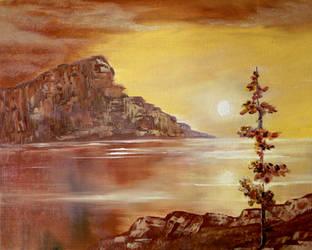 Happy Sunset by Natan-Estivallet