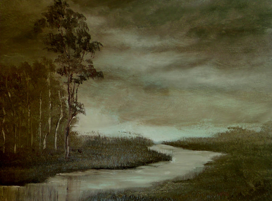 Cold Evening by Natan Estivallet by Natan-Estivallet