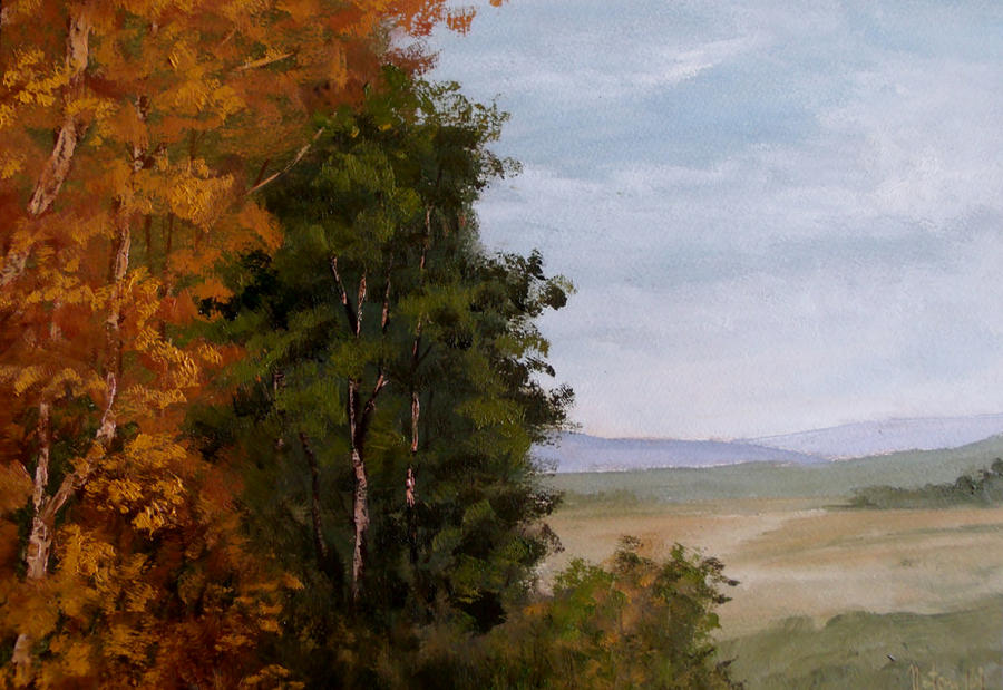 Autumn Trees by Natan-Estivallet