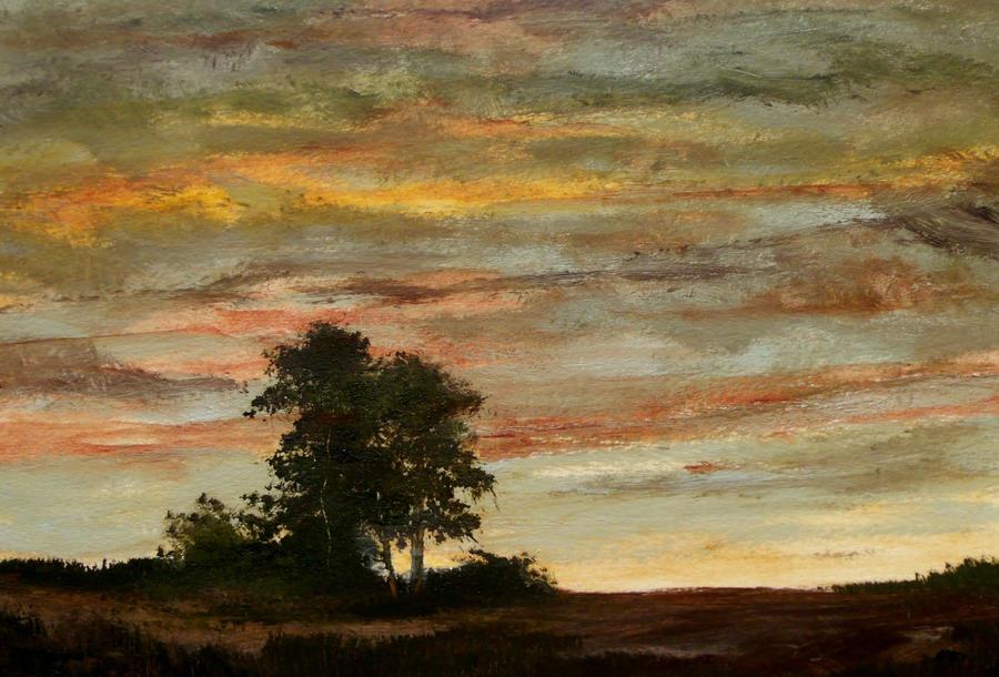 Cloudy Sunset by Natan Estivallet 2015 by Natan-Estivallet