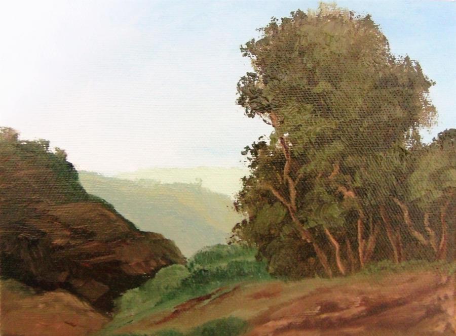 Landscape at Tuias Park by Natan-Estivallet