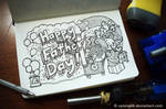 Doodle: Happy Father's Day
