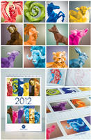 Chinese Horoscope 2012 Calendar by vicenteteng