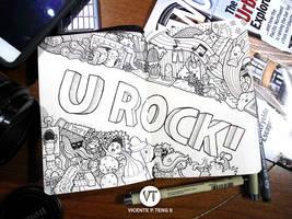 Doodle: U ROCK! by vicenteteng