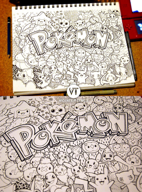 Doodle: Pokemon!!! by vicenteteng