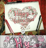 DOODLE: Happy Valentine's Day! by vicenteteng