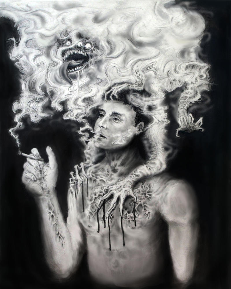 The Monster in the Smoke by Crazynerds