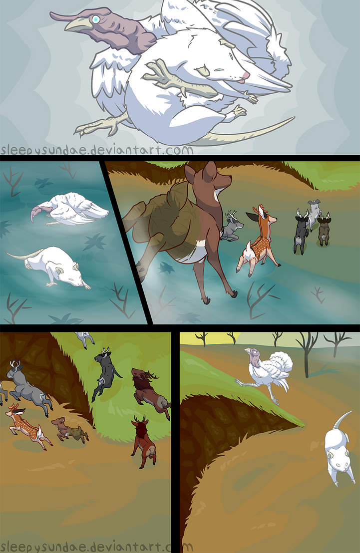 White Tail Pg 90 by SleepySundae