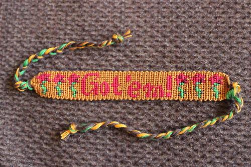 Ray's 'Got 'em' Bracelet by Bookworm1994