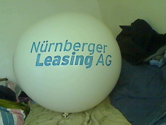 Ad balloon from Germany by billoon45