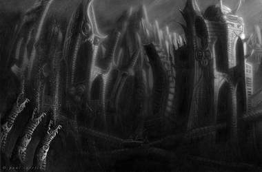R'lyeh by nightserpent