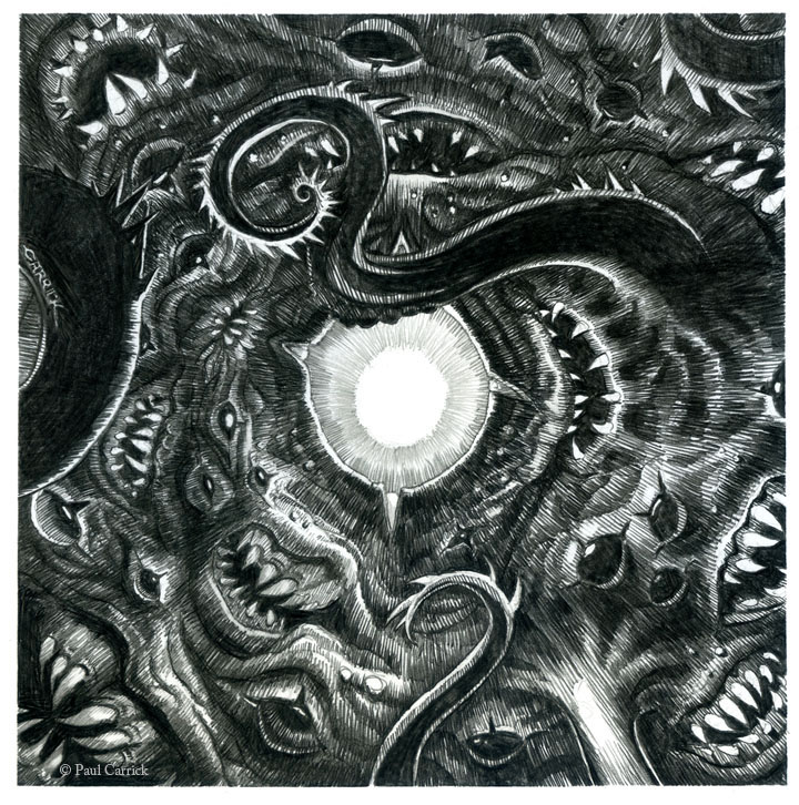 Azathoth - Cider Label by nightserpent